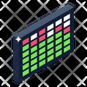 Audio Bars Sound Bars Music Bars Icon
