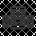 Sound Box Speaker Music Icon