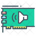 Sound Card Audio Card Hardware Icon