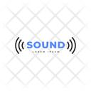 Sound Tag Sound Label Sound Logo Icon