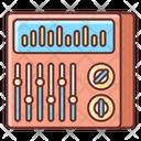 Sound Mixer Adjuster Equalizer Icon