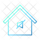 Sound Off Home Smarthome Technology Icon