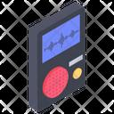 Sound Recorder Voice Recorder Voice Identification Device Icon
