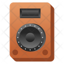 Music Player Sound System Stereo System Icon