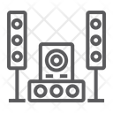 Sound System Audio Icon