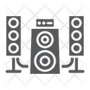 Speaker System Audio Icon