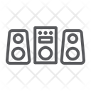 Sound System Party Icon