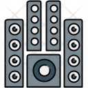 Sound System Speaker Icon