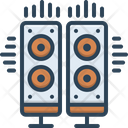 System Music System Loudspeaker Icon