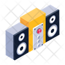 Audio Speakers Stereo System Sound Stereo Icon