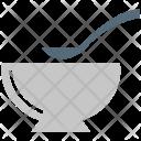 Soup Bowl Spoon Icon