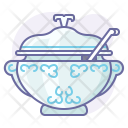 Eating Lunch Soup Icon