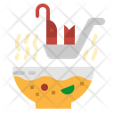 Soup Spoon Food Icon