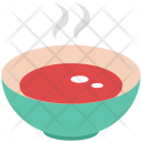Soup Bowl Hot Icon