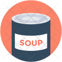 Soup Canned Supermarket Icon