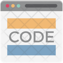 Source Code Content Management Programing Code Icon