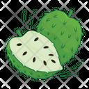 Soursop Fruit Fresh Icon