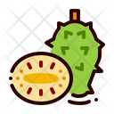Fruit Food Soursop Icon