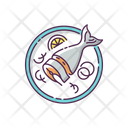 Fish Japanese Soused Icon