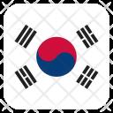 South Korea Flag Icon