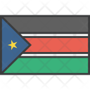 South Sudan African Icon