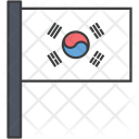 South Korean Korea Icon