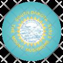 South Dakota Us Icon