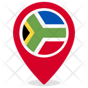 South Africa Country National Icon