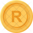 South African Rand Coin Rand Business Icon