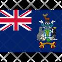 Flag Country South Georgia Icon