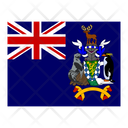 South Georgia And The Sandwich Islands Flag Flags Icon