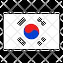 South Korea Flag Country Icon