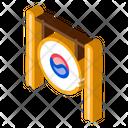 South Korea Gong Icon