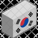 Flag Country South Korea Icon