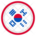 South Korea Country National Icon