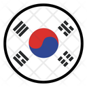 South Korea Nation Country Icon