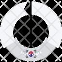 South Korea Country Icon