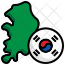 South Korea Flag Flag Country Icon