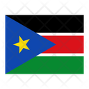 South Sudan Flag Flags Icon
