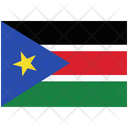 Flag Country South Sudan Icon