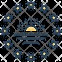 Southern South Sun Icon