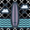 Southern Sea Beach Icon