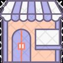Souvenir Shop Carnival Circus Icon