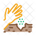 Sowing Seeds Ground Icon
