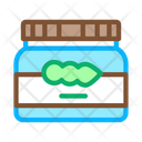 Soy Beans Jar Icon