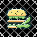 Soy Burger Icon