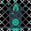 Soy Candle Candle Lobworm Icon