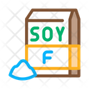 Soy Flour Package Icon
