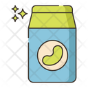 Soy Milk Milk Pack Milk Can Icon