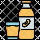 Soy Milk Bottle Icon